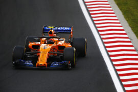Hungaroring, Budapest, Hungary 2018. Stoffel Vandoorne, McLaren MCL33 Renault.