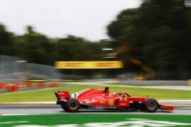 Sebastian Vettel Ferrari Italian GP F1/2018