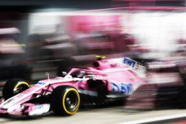 Esteban Ocon Force India Italian GP F1/2018