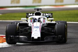 Lance Stroll Williams Italian GP F1/2018