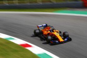 Fernando Alonso McLaren Italian GP F1/2018