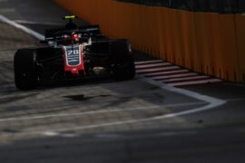 Kevin Magnussen Haas Singapore GP F1/2018