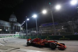 Sebastian Vettel Ferrari Singapore GP F1/2018