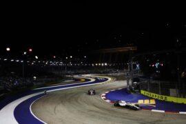 Sergey Sirotkin Williams on track Singapore GP F1/2018