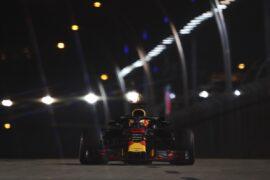 Daniel Ricciardo Red Bull Singapore GP F1/2018