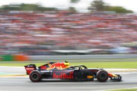Max Verstappen Red Bull Italian GP F1/2018