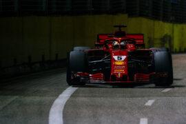 Sebastian Vettel Singapore GP F1/2018