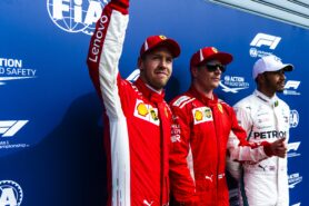 Qualifying results 2018 Italian F1 Grand Prix