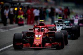 Kimi Raikkonen on track Italian GP F1/2018