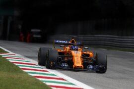 Monza, Italy 2018. Fernando Alonso, McLaren MCL33.