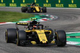 Carlos Sainz Jr (ESP) Renault Sport F1 Team RS18. Italian Grand Prix, Sunday 2nd September 2018. Monza Italy.