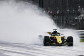 Nico Hulkenberg (GER) Renault Sport F1 Team RS18. Italian Grand Prix, Friday 31st August 2018. Monza Italy.