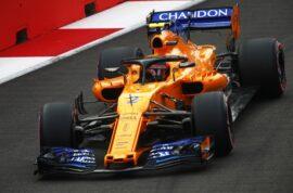 Marina Bay Circuit, Singapore 2018. Stoffel Vandoorne, McLaren MCL33.