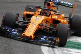 Monza, Italy 2018 Stoffel Vandoorne, McLaren MCL33.