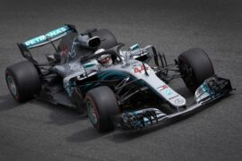 Lewis Hamilton Mercedes Italian GP F1/2018