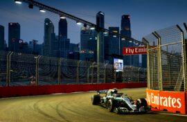 Formula One - Mercedes-AMG Petronas Motorsport, Singapore GP 2018. Valtteri Bottas