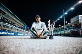 Formula One - Mercedes-AMG Petronas Motorsport, Singapore GP 2018. Lewis Hamilton