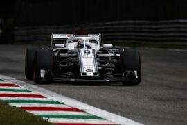 Marcus Ericsson, Alfa Romeo Sauber C37 at Formula One World Championship, Rd14, Italian Grand Prix, Qualifying, Monza, Italy, Saturday 1 September 2018.