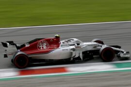 Charles Leclerc, Alfa Romeo Sauber C37 at Formula One World Championship, Rd14, Italian Grand Prix, Race, Monza, Italy, Sunday 2 September 2018.