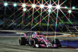 Esteban Ocon (FRA) Racing Point Force India F1 VJM11. Singapore Grand Prix 2018.