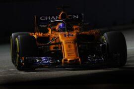 Marina Bay Circuit, Singapore Friday 14 September 2018. Fernando Alonso, McLaren MCL33.