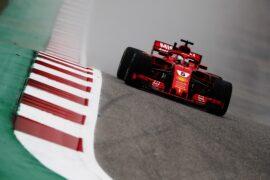 Sebastian Vettel Ferrari US GP F1/2018