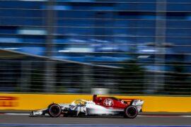 Marcus Ericsson, Alfa Romeo Sauber C37 Russian GP F1/2018