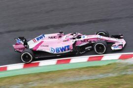 Sergio Perez Racing Point Force India Japanese GP F1/2018