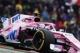 Sergio Perez Force India US GP F1/2018