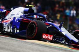 Pierre Gasly Toro Rosso US GP F1/2018