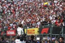 Lewis Hamilton Mercedes 5th WC at Mexico GP F1/2018
