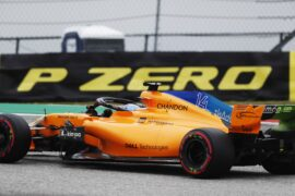 Fernando Alonso McLaren US GP F1/2018