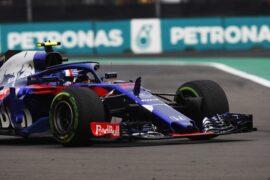 Pierre Gasly Toro Rosso Mexico GP F1/2018