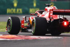 Sebastian Vettel Ferrari Mexico GP F1/2018