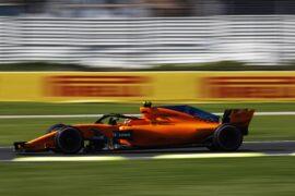 Stoffel Vandoorne McLaren Mexico GP F1/2018