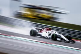 Charles Leclerc, Alfa Romeo Sauber C37 during the United States GP at Circuit of the Americas 2018 in Circuit of the Americas, United States of America.
