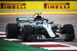 Valtteri Bottas Mercedes US GP F1/2018