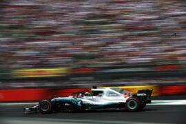Lewis Hamilton Mercedes Mexico GP F1/2018