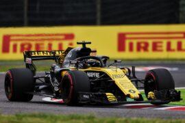 Nico Hulkenberg (GER) Renault Sport F1 Team RS18. Japanese Grand Prix, Friday 5th October 2018. Suzuka, Japan.