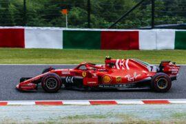 Kimi Raikkonen Ferrari Japanese GP F1/2018