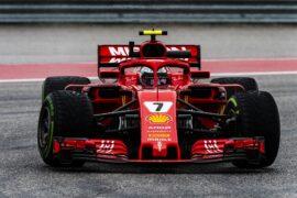 Kimi Raikkonen Ferrari US GP F1/2018