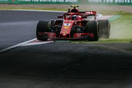 2018 Japanese GP Kimi Raikkonen Ferrari