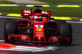 Sebastian Vettel Ferrari Mexican GP F1/2018