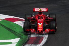 Kimi Raikkonen Ferrari Mexican GP F1/2018