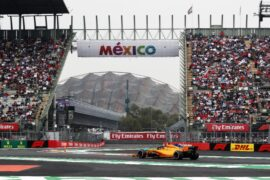 Autódromo Hermanos Rodríguez, Mexico City 2018. Stoffel Vandoorne, McLaren MCL33