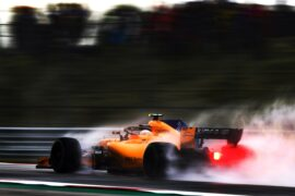 Circuit of the Americas, Austin, Texas, USA 2018. Stoffel Vandoorne, McLaren MCL33.