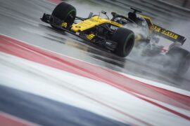 Nico Hulkenberg (GER) Renault Sport F1 Team RS18. United States Grand Prix, Friday 19th October 2018. Circuit of the Americas, Austin, Texas, USA.