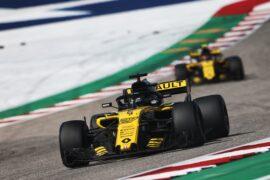 Nico Hulkenberg (GER) Renault Sport F1 Team RS18. United States Grand Prix, Sunday 21st October 2018. Circuit of the Americas, Austin, Texas, USA.