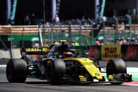 Carlos Sainz Jr (ESP) Renault Sport F1 Team RS18. Mexican Grand Prix 2018.