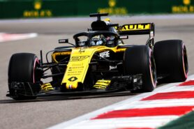 Technical Briefing on Lateral forces in corners by Renault